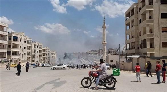 سوريا: عشرات القتلى والجرحى في تفجير بمدينة إدلب