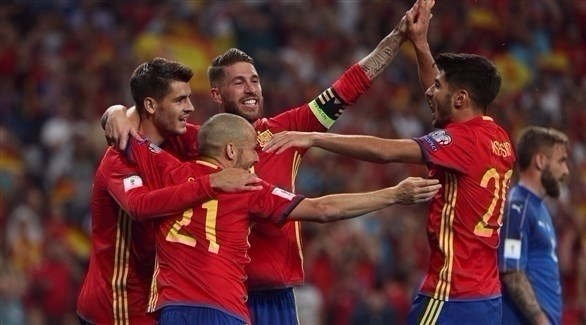 إسبانيا شباك إيطاليا بثلاثية