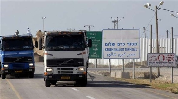 وقود متجه إلى غزة (أرشيف)