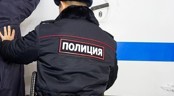 عنصر من جهاز الشرطة في روسيا (أرشيف)