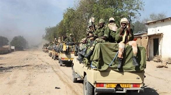 قافلة عسكرية للجيش التشادي (أرشيف)