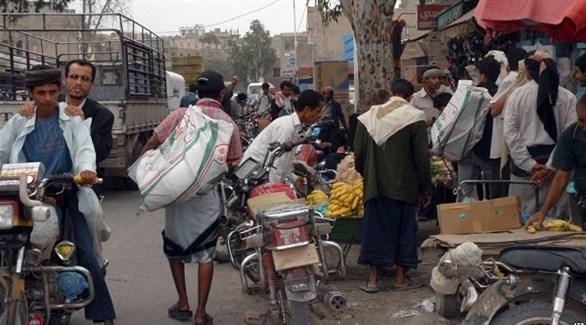 باعة متجولون في ذمار اليمنية (نيوزيمن)