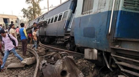 حادث قطار في الهند (تويتر)