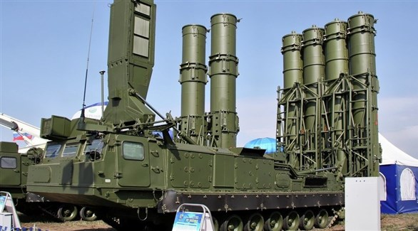منصة صواريخ روسية إس 300 (أرشيف)