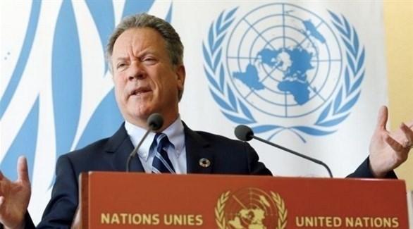 المدير التنفيذي لبرنامج الأغذية العالمي للأمم المتحدة، ديفيد بيسلي (أرشيف)