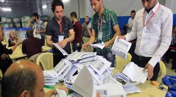 فرز الأصوات في انتخابات سابقة بكردستان العراق (أرشيف)