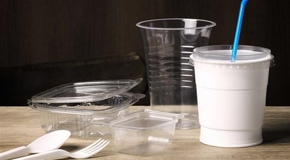 أوان بلاستيكية للاستعمال الغذائي (أرشيف)