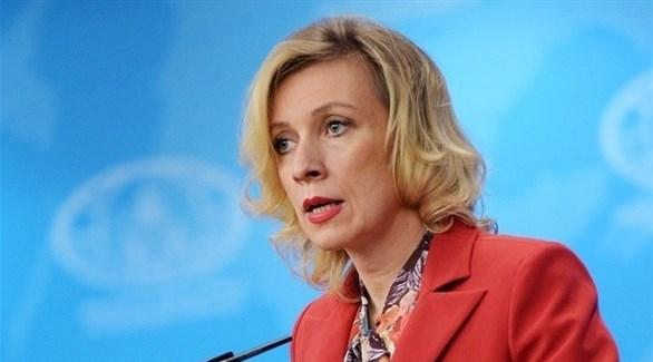 المتحدثة باسم وزارة الخارجية الروسية ماريا زخاروفا (أرشيف)