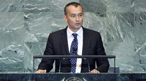مبعوث الأمم المتحدة للسلام نيكولاي ملادينوف (أرشيف)