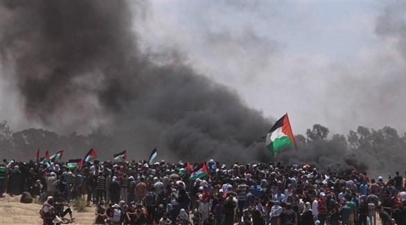 إحدى مسيرات العودة في غزة (أرشيف)