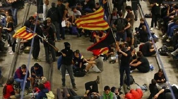 مظاهرات لانفصاليين في كتالونيا (أرشيف)