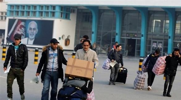 أفغان في كابول بعد ترحيلهم من ألمانيا (أرشيف)