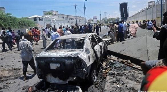 تفجير سابق في الصومال (أرشيف)