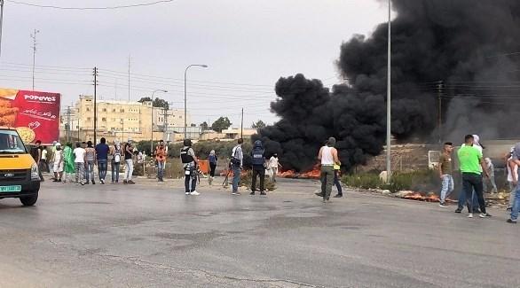 مواجهات مع قوات الاحتلال في الضفة (من المصدر)