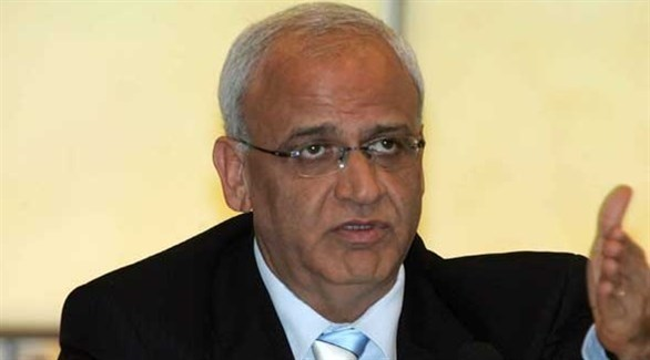 أمين سر اللجنة التنفيذية لمنظمة التحرير الفلسطينية صائب عريقات (أرشيف)