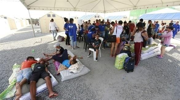 لاجئون فنزويليون (إ ب أ)