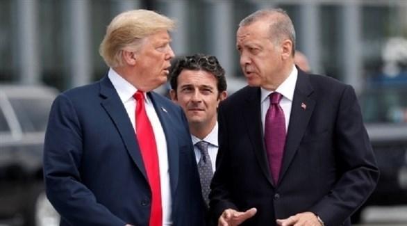 أردوغان وترامب (أرشيف)