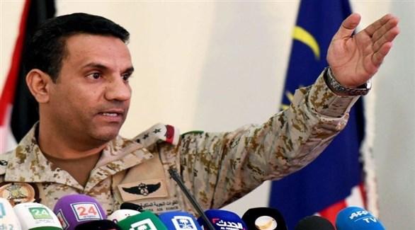 المتحدث باسم التحالف العربي في اليمن العقيد، تركي المالكي (أرشيف)