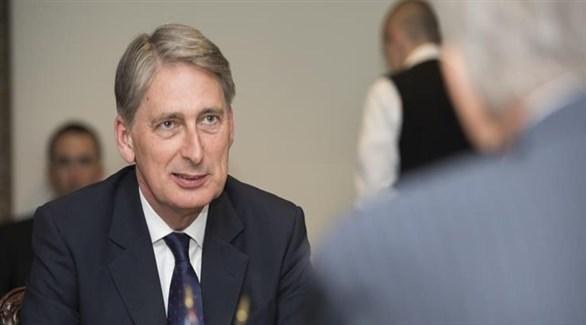 وزير المالية البريطاني، فيليب هاموند (أرشيف)