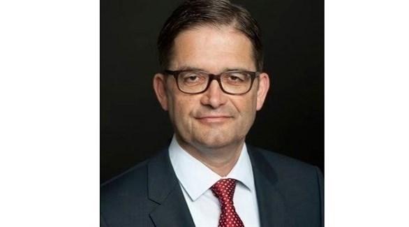 السفير الألماني لدى ليبيا أوليفر أوفتشا (أرشيف)