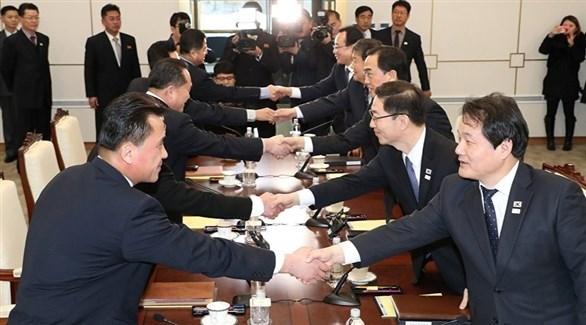 محادثات رفيعة بين كبار المسؤولين في الكوريتين في بانمونغوم (أرشيف)