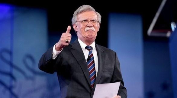مستشار الأمن القومي الأمريكي جون بولتون (رويترز)