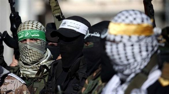 عناصر تابعة لحركة حماس في فلسطين (أرشيف)