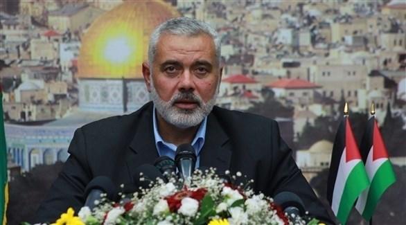 رئيس المكتب السياسي لحماس إسماعيل هنية (أرشيف)
