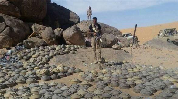ألغام الحوثيين في الساحل الغربي (أرشيف)
