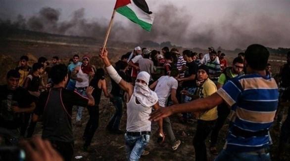 جانب من مسيرة العودة في غزة (أرشيف)