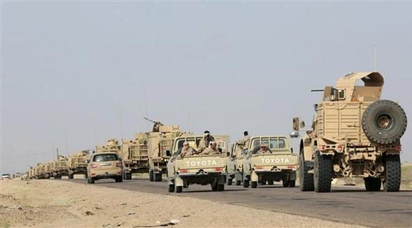 قوات من الجيش اليمني الوطني على مشارف صعدة (أرشيف)