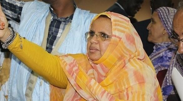 رئيسة المجلس الجهوي لنواكشوط السيدة فاطمة بنت عبد المالك (أرشيف)