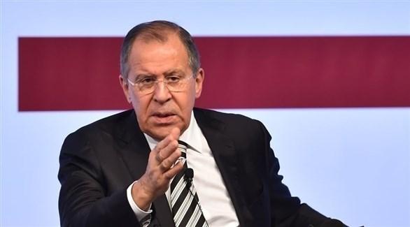 وزير الخارجية الروسية سيرغي لافروف (أرشيف)