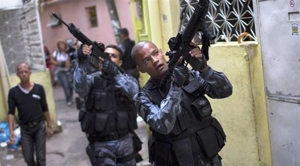 عناصر من قوات الامن في البرازيل (أرشيف)