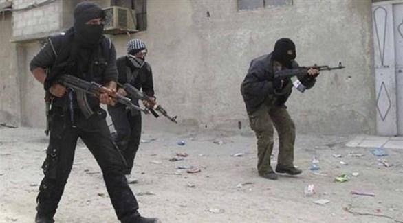مسلحون في ريف إدلب (المرصد)