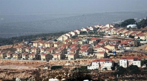 مستوطنة إسرائيلية في الخليل بالضفة الغربية (أرشيف)