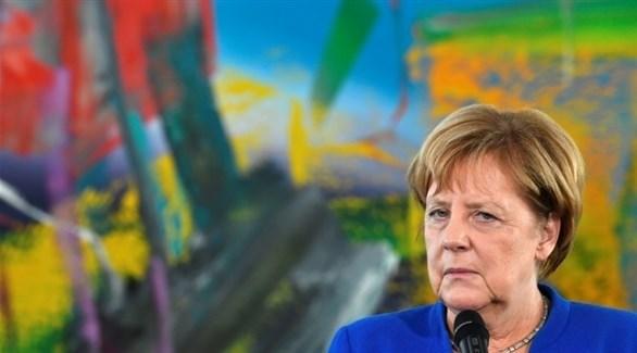 المستشارة الألمانية أنجيلا ميركل (أف ب)