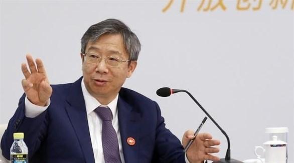 حاكم البنك المركزي الصيني يي غانغ (أرشيف)