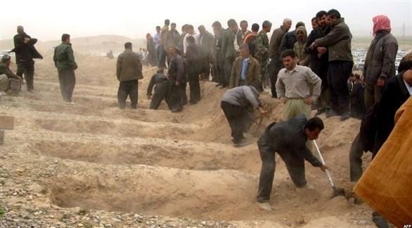 عراقيون يكشفون مقبرة جماعية (أرشيف)