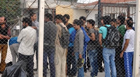 مهاجرون في أحد مراكز اللاجئين بتركيا (أرشيف)