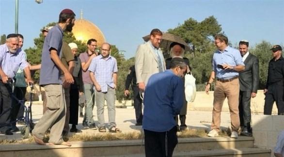 المتطرف يهودا غليك يقتحم الأقصى اليوم الإثنين (وفا)