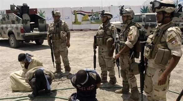 قوات من أمن الحدود العراقي تعتقل دواعش (أرشيف)