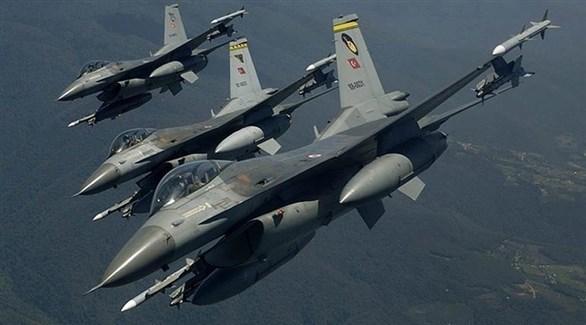 مقاتلات تركية (أرشيف)
