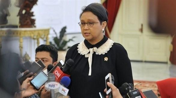 وزيرة الخارجية الإندونيسية ريتنو مارسودي (أرشيف)