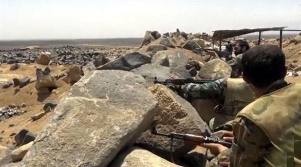مقاتلين من قسد بريف دمشق (أرشيف)