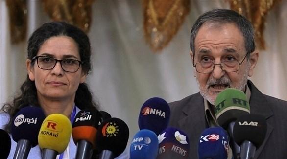 رئيس مجلس سوريا الديمقراطي رياض درار (أرشيف)