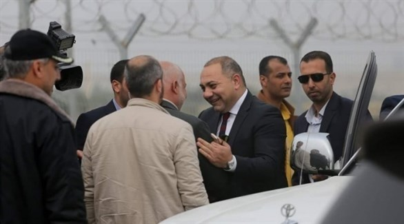 وصول الوفد الأمني المصري إلى غزة (تويتر)