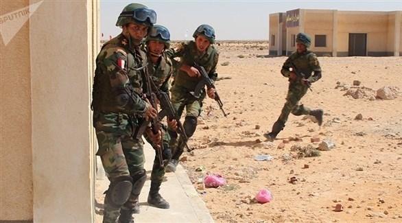 عناصر من الجيش المصري (أرشيف)