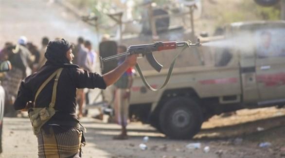 ميليشيا الحوثي في تعز (أرشيف)