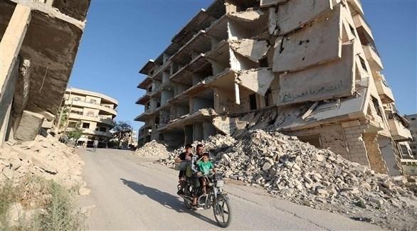 آثار الحرب في سوريا (أرشيف)